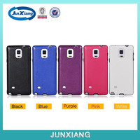 Premium full protective TPU leather back cover case for samsung galaxy note 4