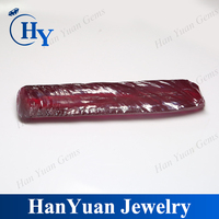 Wholesale raw marterial uncut synthetic ruby