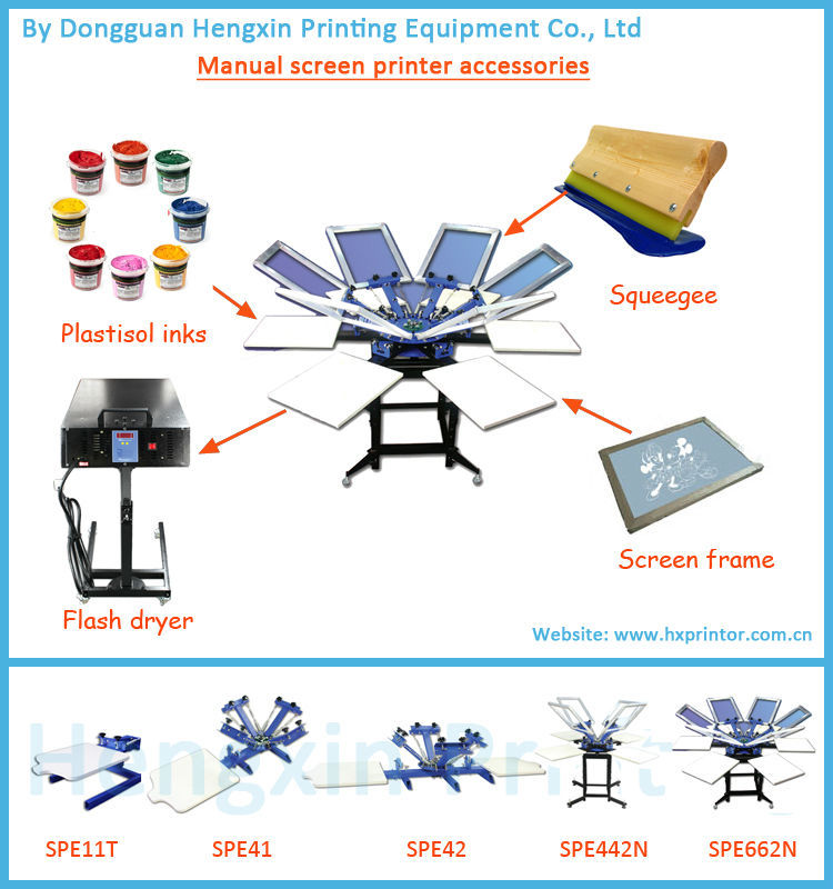2 Colors Screen Printing Machine Manual For T Shirt Buy