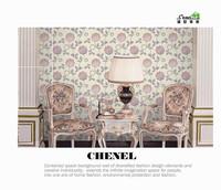 latest fashion new design wallpaper with flowers living room wallpaper korean wallpaper