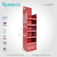 G1409055 Recycle Phone Case 5 Tier Paper Display Rack