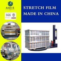super viscosity PE wrap film/breakage-proof/machine use film/made in china
