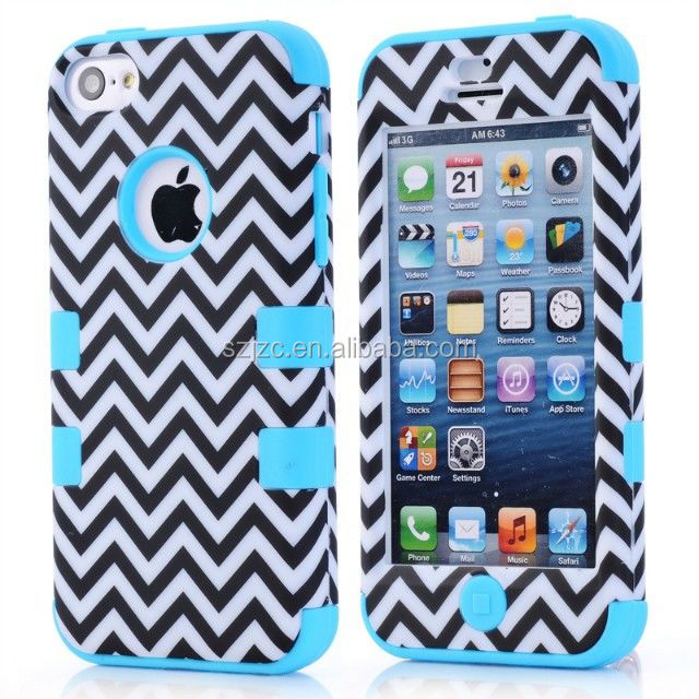 silicon+PC hard case for iPhone 5C,China supplier for iPhone 5C case