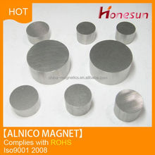 2016 new arrival sintered disc alnico magnet for sale