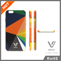Jules.V brand Rainbow Series Hot Sale Protective Case Cover for iphone 6/6 plus,custom design printing cell phone case