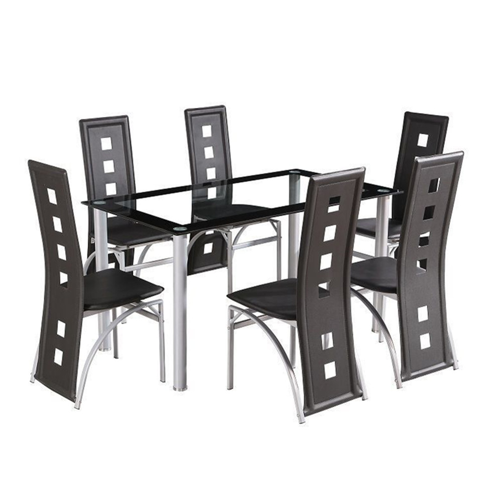 Hot Sale Modern Space Saving Dining Table And Chairs Set