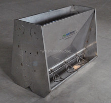 stainless feeding troughs for pig farm