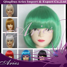 Clown Party Halloween Disco Wig Choose Your Color