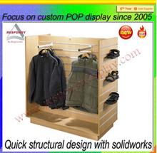 New Style Brand Sport Shop Display Stand para tienda de ropa de diseño