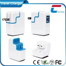 5V 3.1A Wall Charger with Changeable Adapter