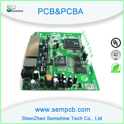 HDI PCB with IC assembly for micro sd card