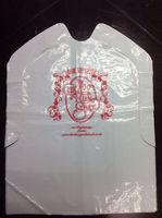 Disposable plastic adult bibs aprons