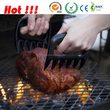 2015 Multiple Colors BBQ Bear Shape Meat Claws for Pork,Poultry or Beef,Bear Paw Meat Handler Forks
