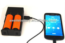 Charge 4 AA AAA C or D Batteries/universal battery charger with usb /universal li-ion battery charger
