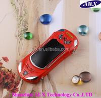 Sport car shape mobile phone F9 dual sim cell phone with 35pcs LED lights