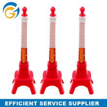 Tower Shape Promotional Red Color New cheap ballpoint pen