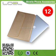 Envelope style leather case cover for macbook pro 15'' , sleeve bag for macbook cover 11-AV677(1)
