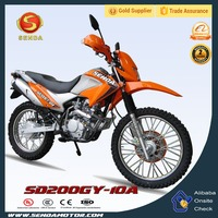 New Hot Dirt Bike 200CC for Sale Made In China NXR 125 BROS SD200GY-10A