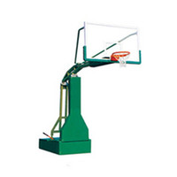 International standard sports equipment manual hydraulic basketball stand