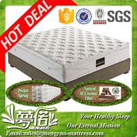 bedroom furniture king size pocket coil spring matress