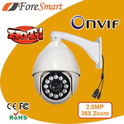 1080p auto focus camera rotating dome surveillance cameras full hd ip speed dome camera