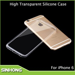 New Mobile Phone Accessories,Cheap Silicon Case For iPhone 6