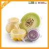 FDA Standard Heat Resistant Transparent New Design Wholesale Food Safe Silicone Stretch Lids