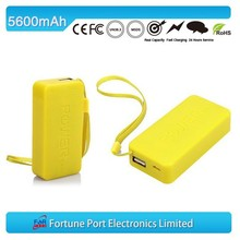 5600mah Rechargeable Power Bank With 18650 Battery For Mobile Phone