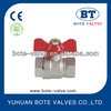 BT1008 Forged Ball valve with aluminum handle PN30