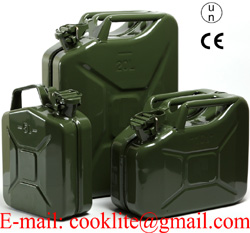 3 Military Fuel Cans