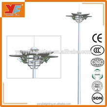 led high mast light stainless steel unique design for airport highway square outdoor lighting fot basketball court