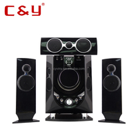 2015 active home theater wood speaker with usb CY 8800