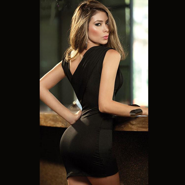 Женское платье EAST KNITTING n/071 V Vestidos cluwear & drop N-071