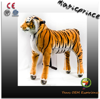 Best selling!!!riding mechanical horse pony, rocking tiger toy, human powered horse for safe
