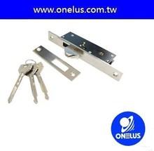 hot sell metal steel chrome plate cross key door lock set