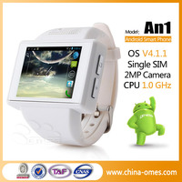 Quadband Android Internet Latest Wrist Watch Mobile Phone