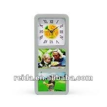table photo frame clock