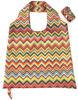 Integrated snap closure design polyester vest bag