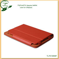 for ipad case genuine leather in promotions,real leather material for ipad cases and covers,various colors
