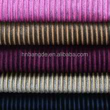 100% polyester microfiber fabric pa coating stripe print for sofa or upholstery