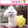 hot selling comfortable cotton dog dress pet wedding dress factory wholesale