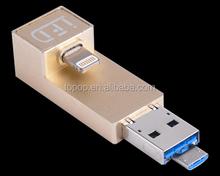 new 2015 gift USB 3.0 flash drive on-the-go smartphone memory stick 4GB 8GB 16GB 32GB OTG otg