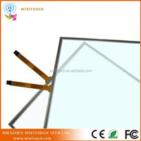 """CE, Rohs certificated glass to film 4 wire 7"""" replacement touch screen resistive touch screen"""