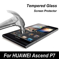 Factory price High Strength Anti-Scratch tempered glass screen guard for Huawei Mate7