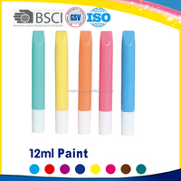 Multicolor paint color washable for fabric to paint