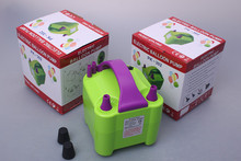 bargain double mouth electric air pump for balloons