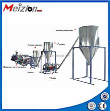 The complete wood plastic production line / WPC granules machine