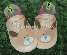 leather children shoes