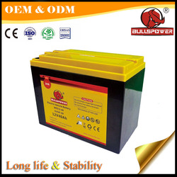 Best price 6-EVF-40 Long life rechargeable battery 12v 40ah electric scooter battery
