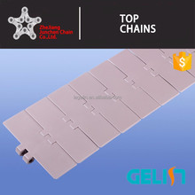 820-K250 width 82.6mm plastic POM anti-static table top chain for food conveyor